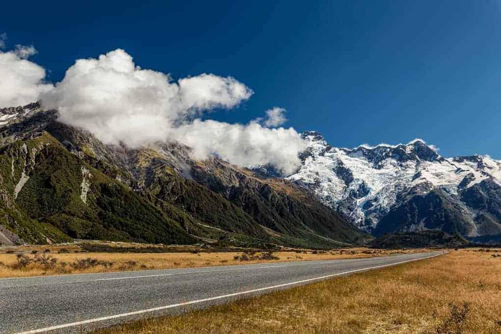 Podróż do Nowej Zelandii - Alpy Południowe