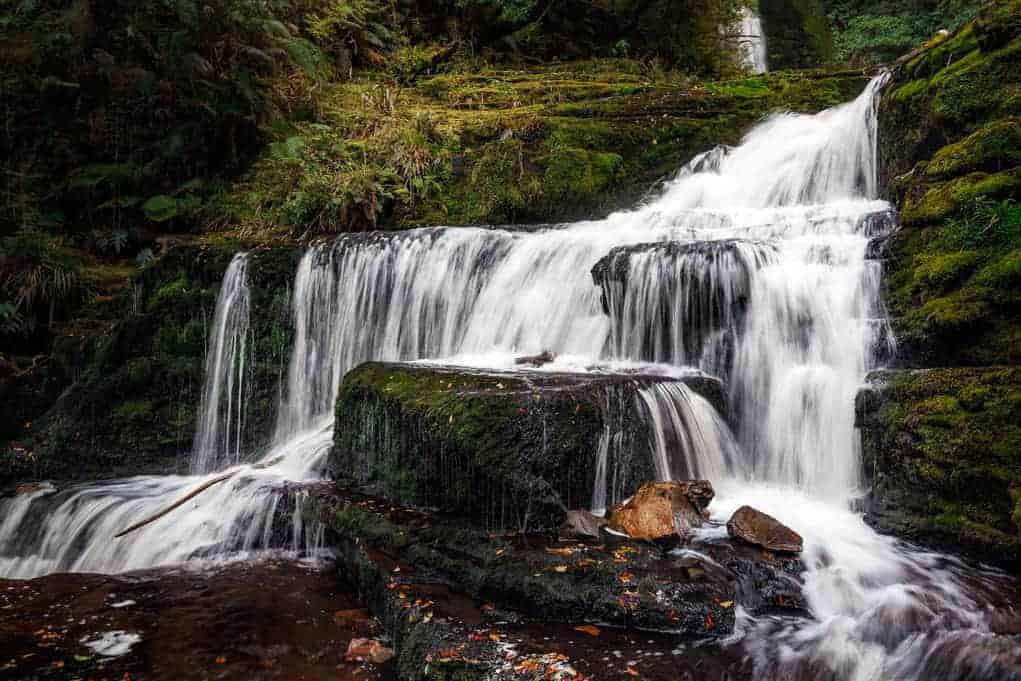 Podróż do Nowej Zelandii - Wodospad McLean